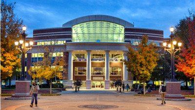 MTSU campus building