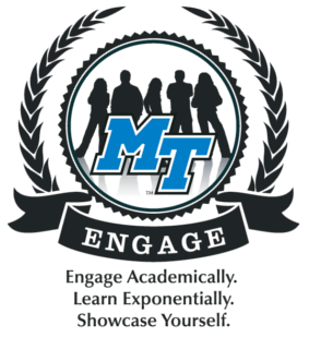 Engage logo: engage Academically. Lean Exponentially. Showcase Yourself.
