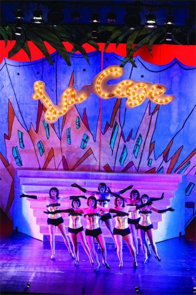 Performance of La Cage at MTSU