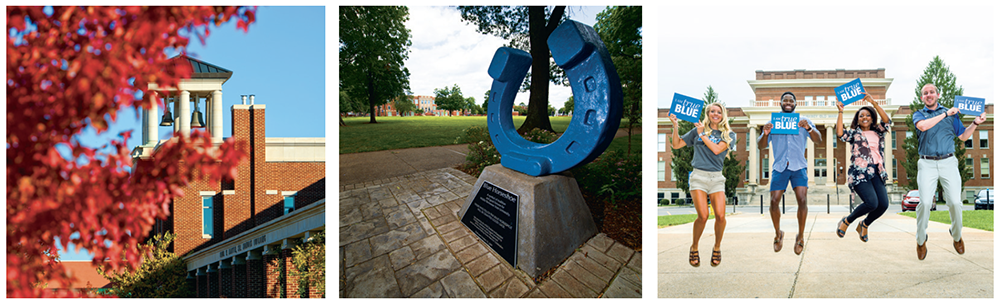 Collage of traditions at MTSU